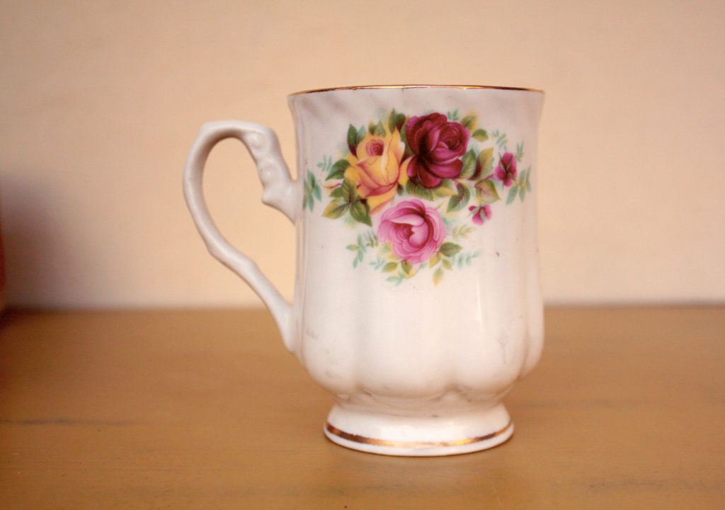 A fine china cup. Photo credit: Aanchal Malhotra