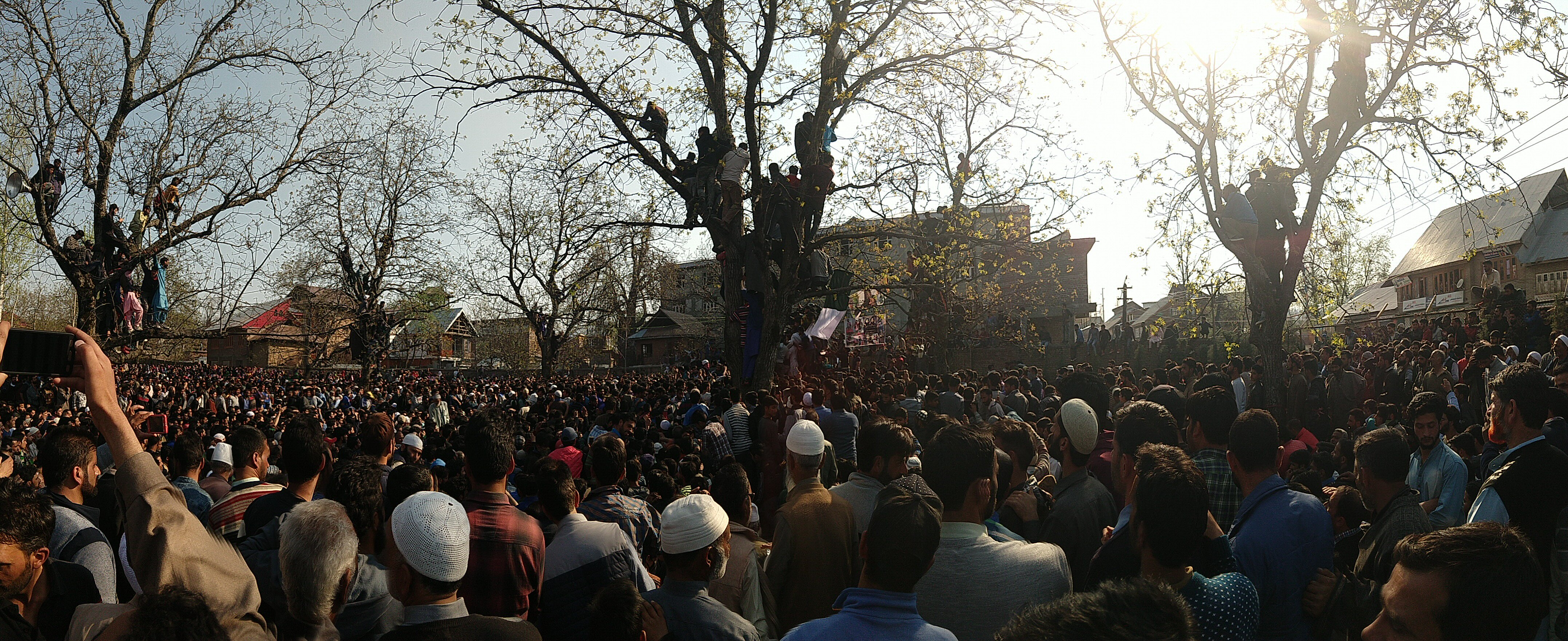 Funeral of Zubair Turray.