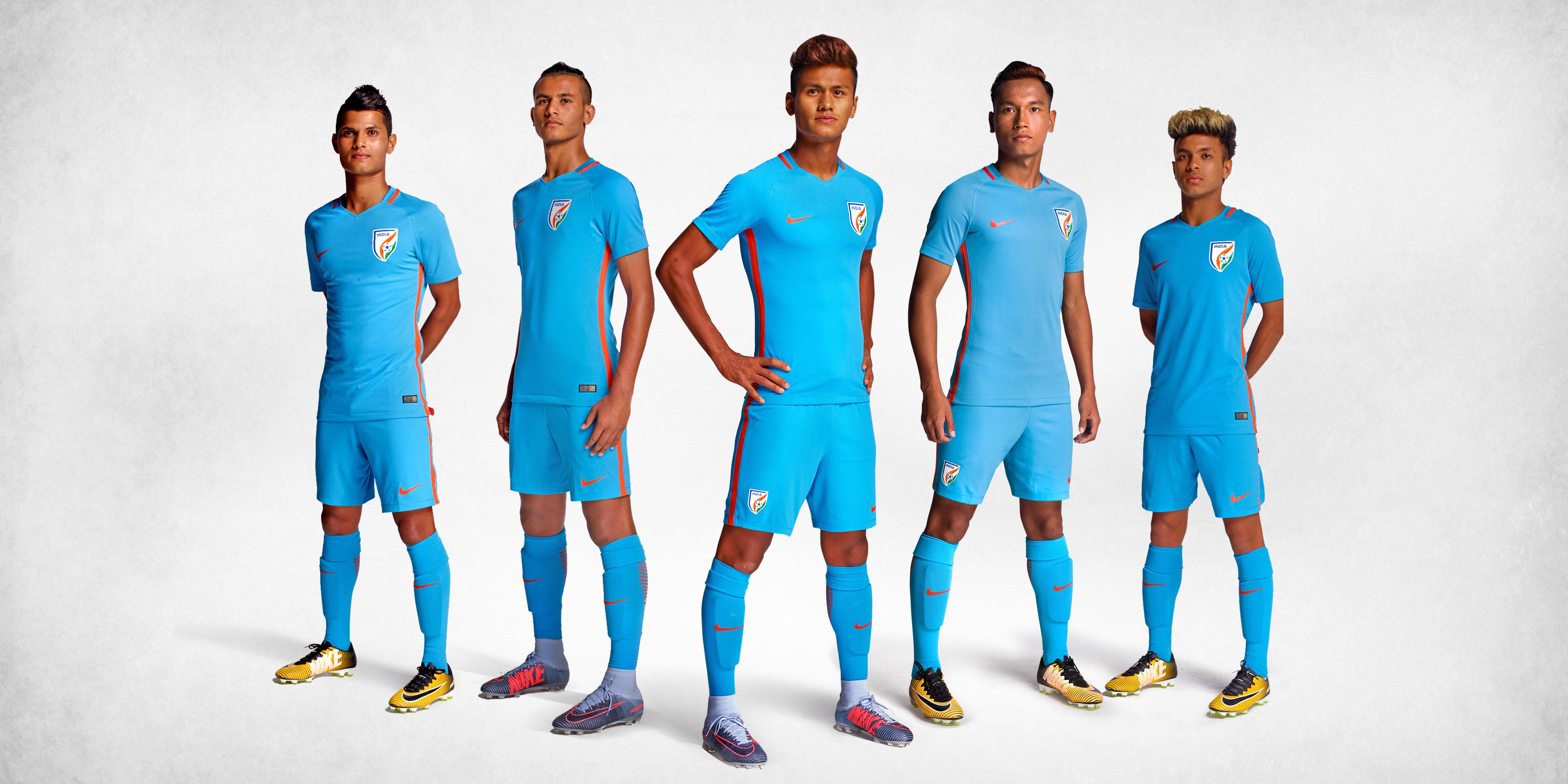 Apart from the original team kit that the players wear, a manufacturer usually produces at least two other variants for retail (Image: AIFF)