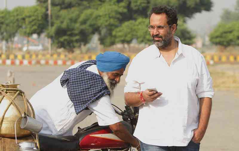 Aanand L Rai (right).