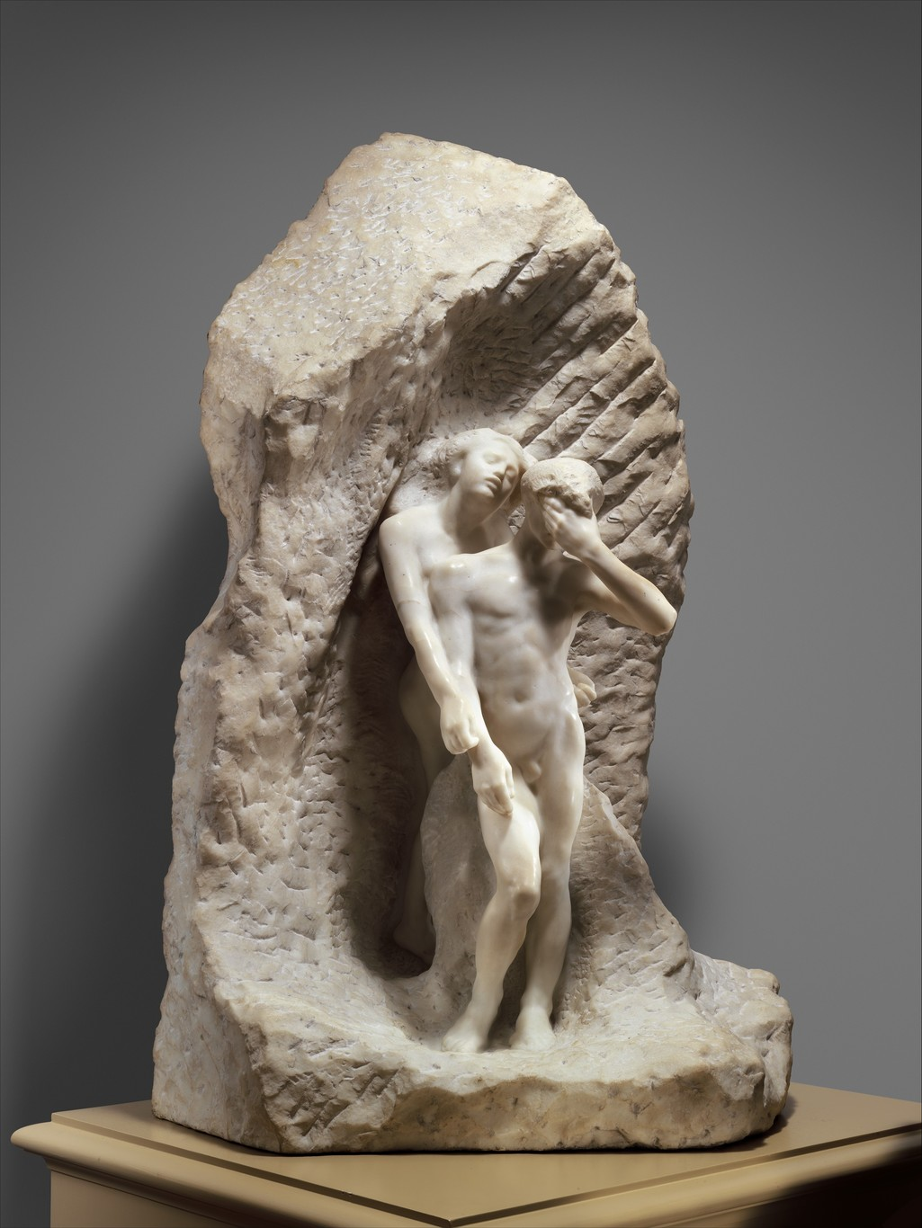 Orpheus and Eurydice by Auguste Rodin (1893). The Metropolitan Museum, NY