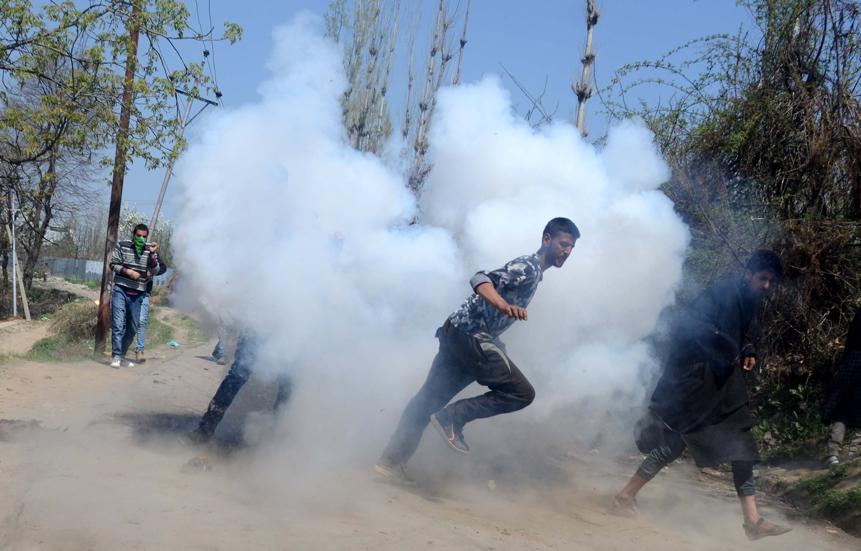 Protests break out in South Kashmir