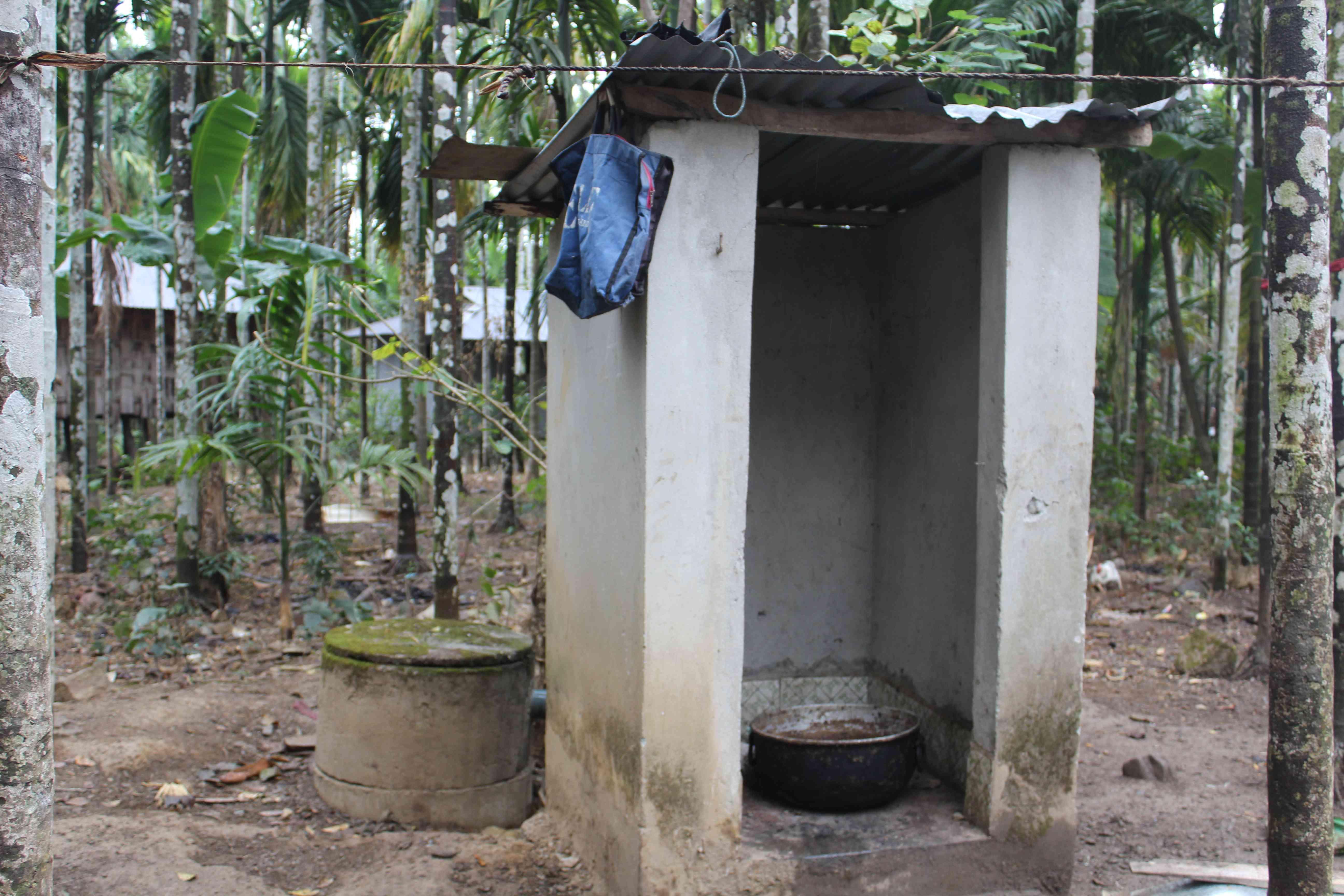 शौचालय का दूसरा इस्तेमाल
