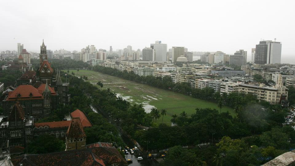 Mumbai's Oval Maida has impressive Gothic buildings to the east and art deco apartments to the west. Credit: HT Photo