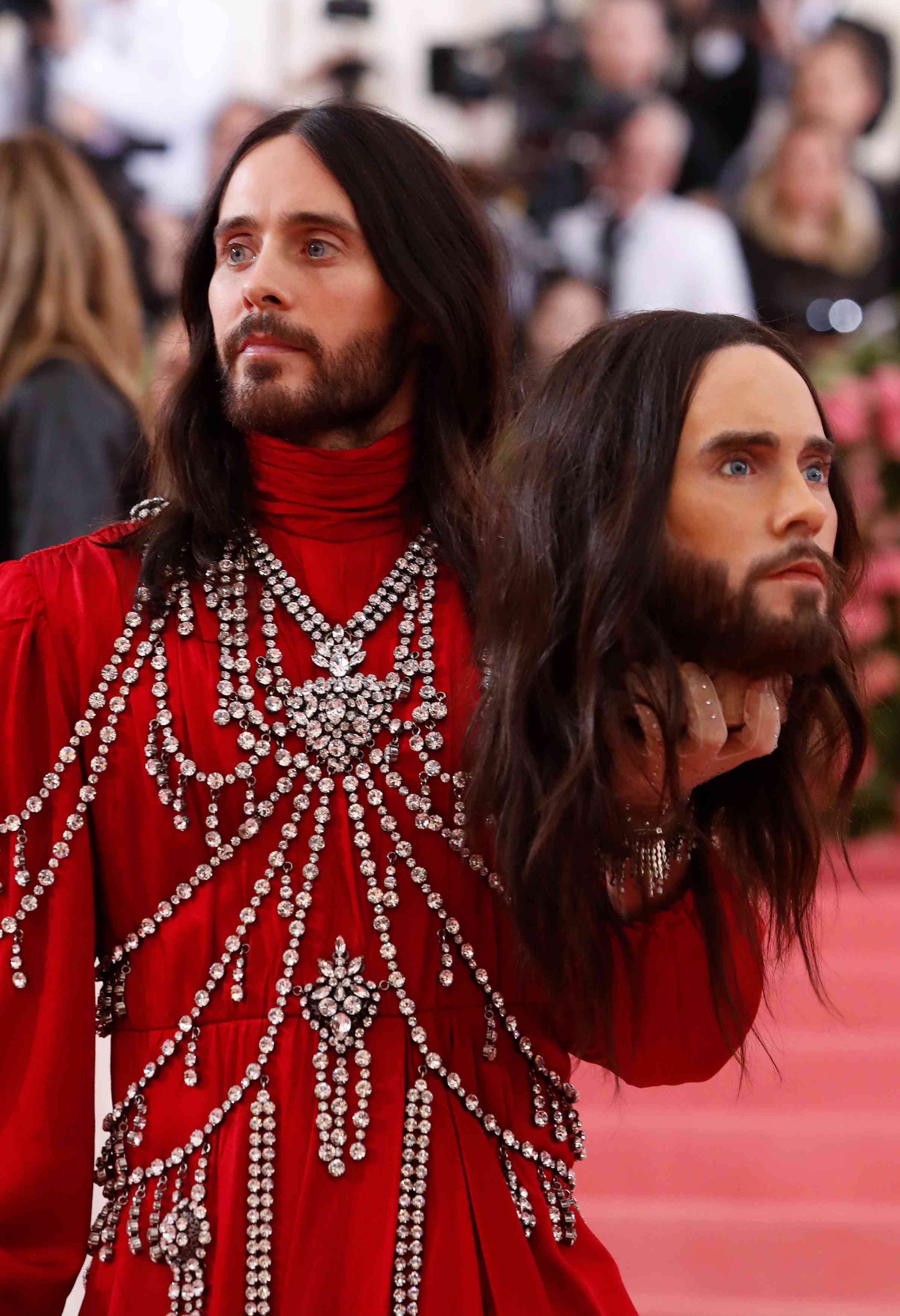 Jared Leto at the Met Gala 2019 | Image credit: Andrew Kelly / Reuters