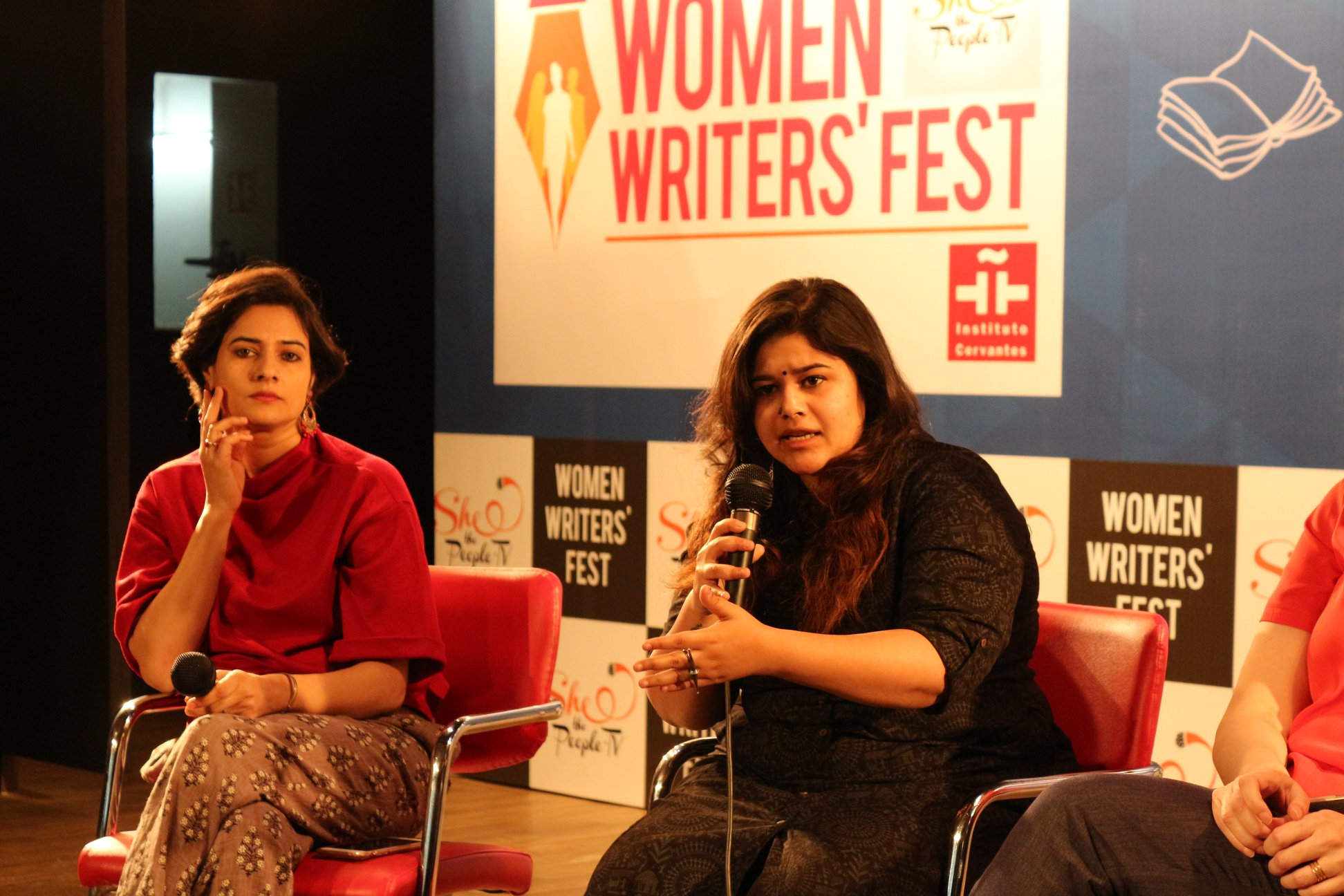 Shaili Chopra (left) and Karnika Kohli