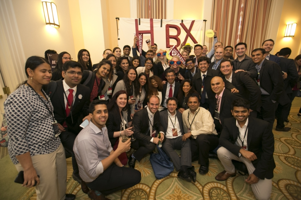 HBXers at ConneXt, with Prof. Bharat Anand