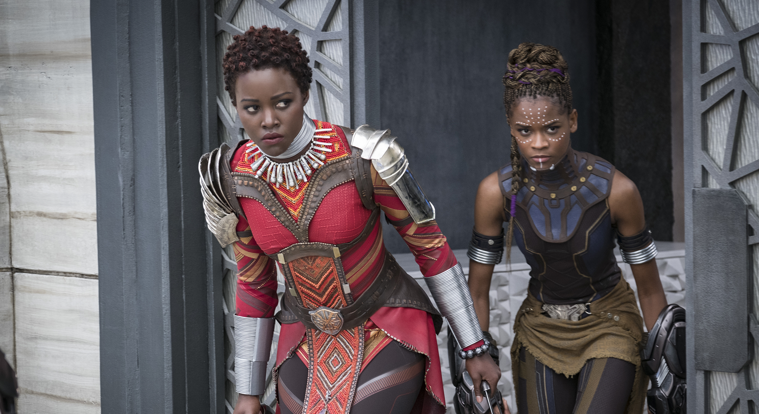 Lupita Nyong'o in Black Panther. Image credit: Marvel Studios.