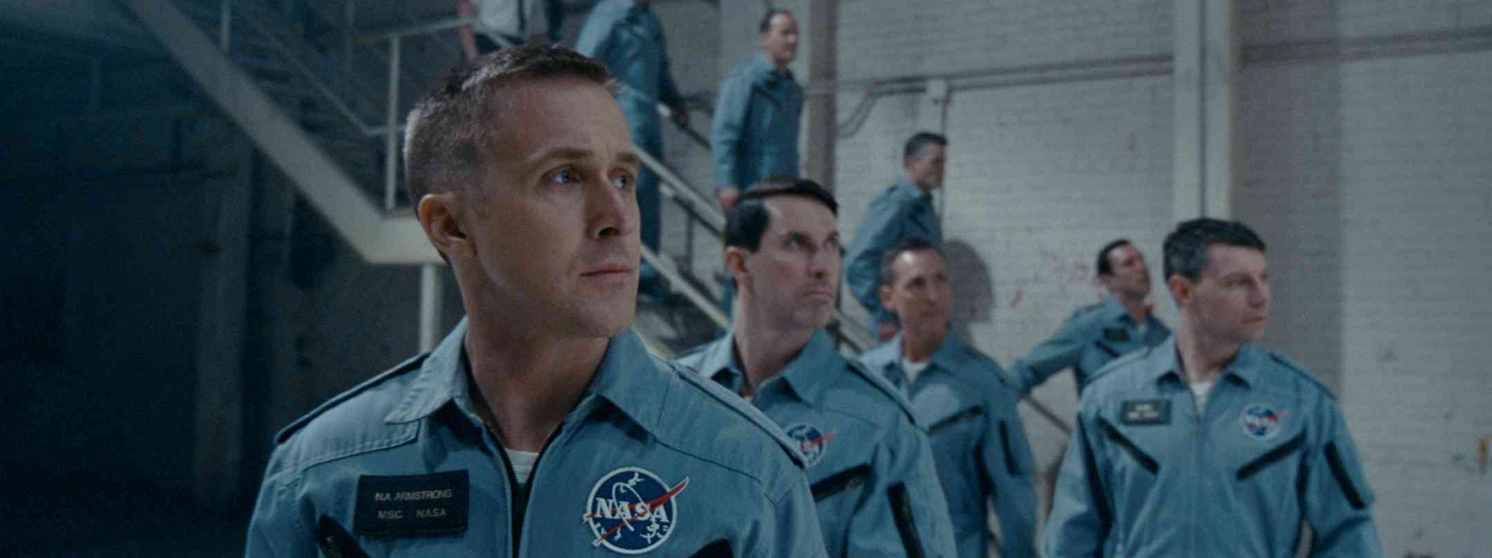 Ryan Gosling as Neil Armstrong in First Man. Courtesy Universal Pictures.