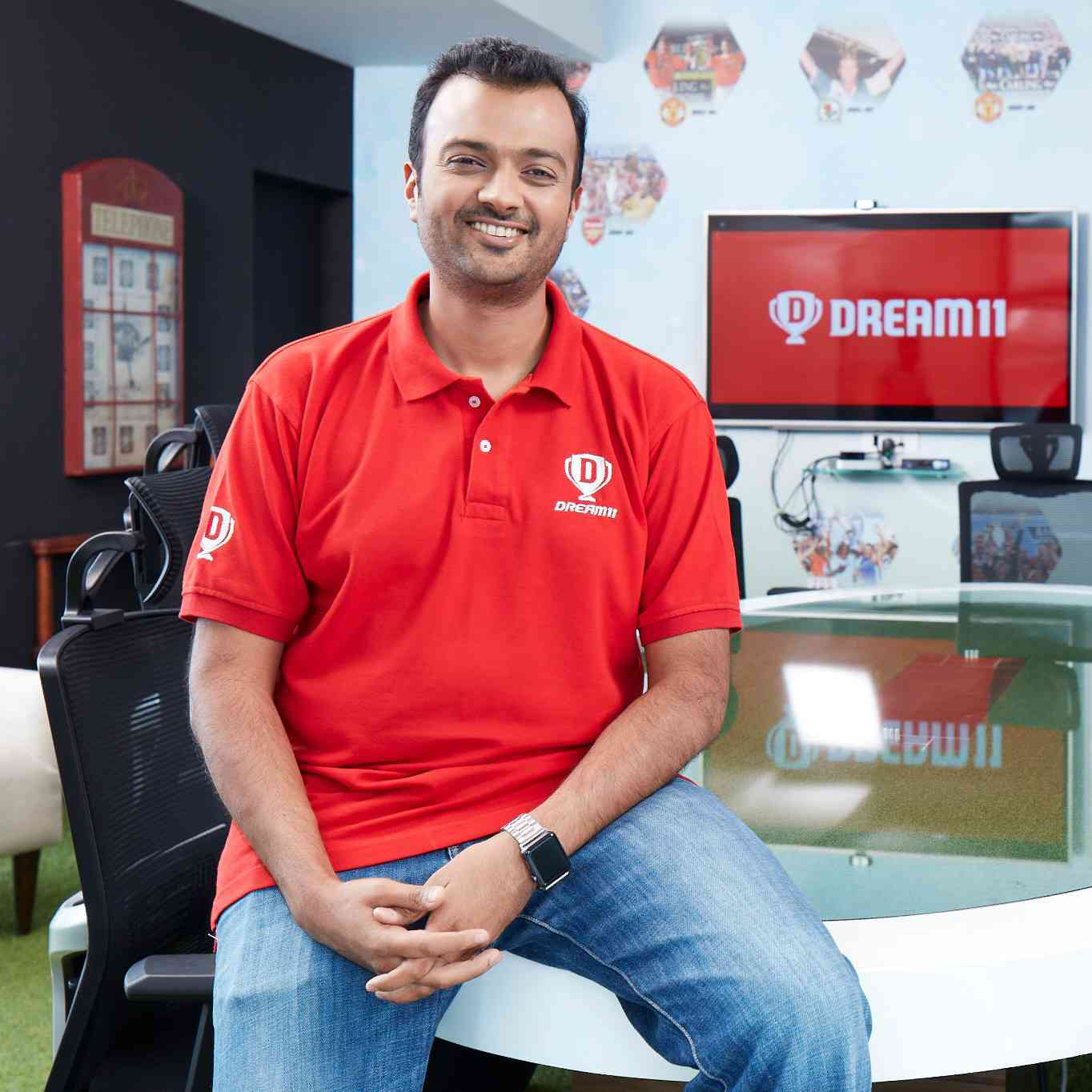 Harsh Jain, co-founder and CEO of Dream11