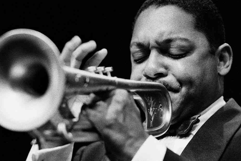 Wynton	Marsalis, 1995. Photos courtesy: Farrokh Chothia/PHOTOINK.