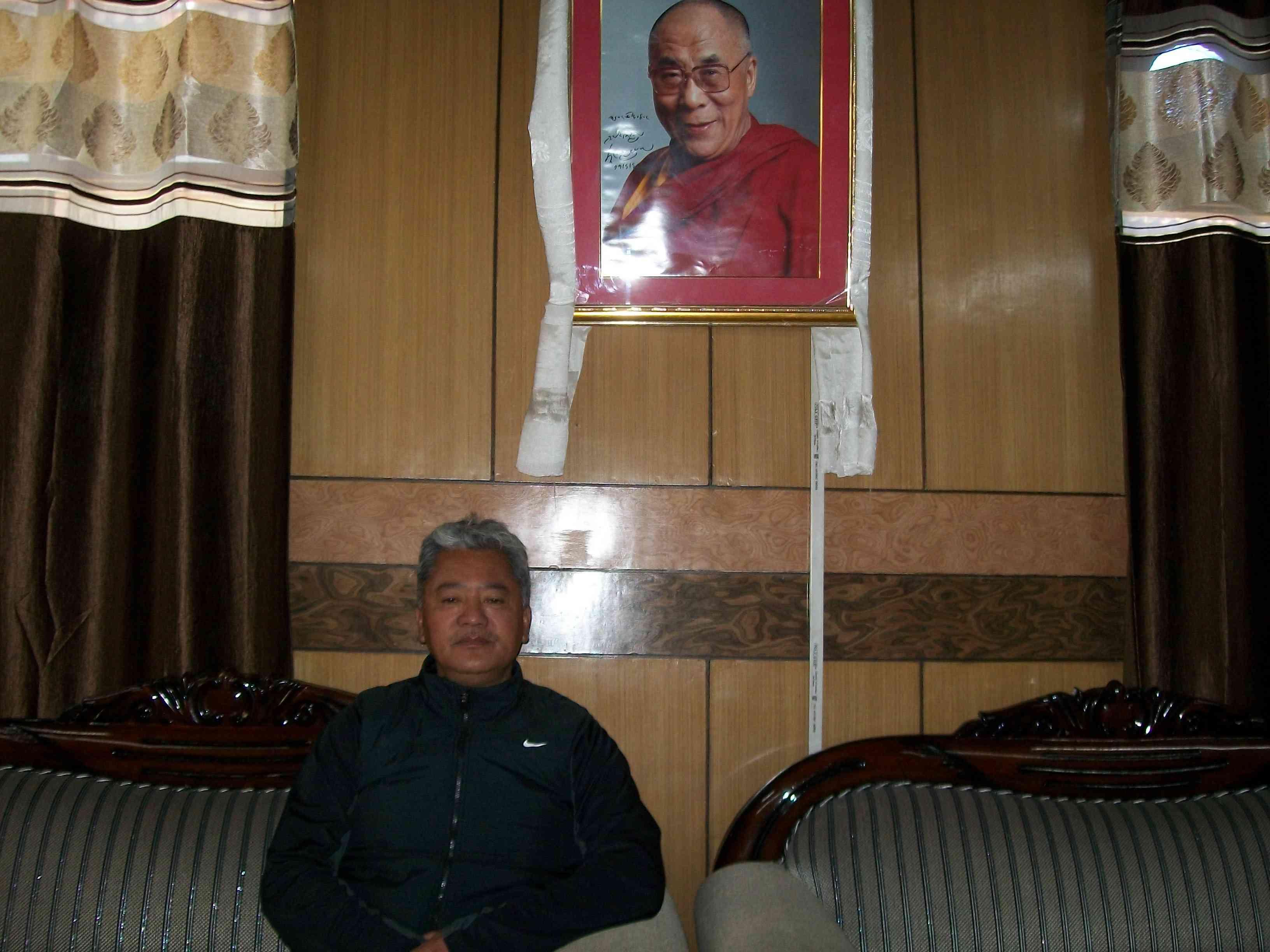 PT Kunzang, vice president of the Ladakh Buddhist Association