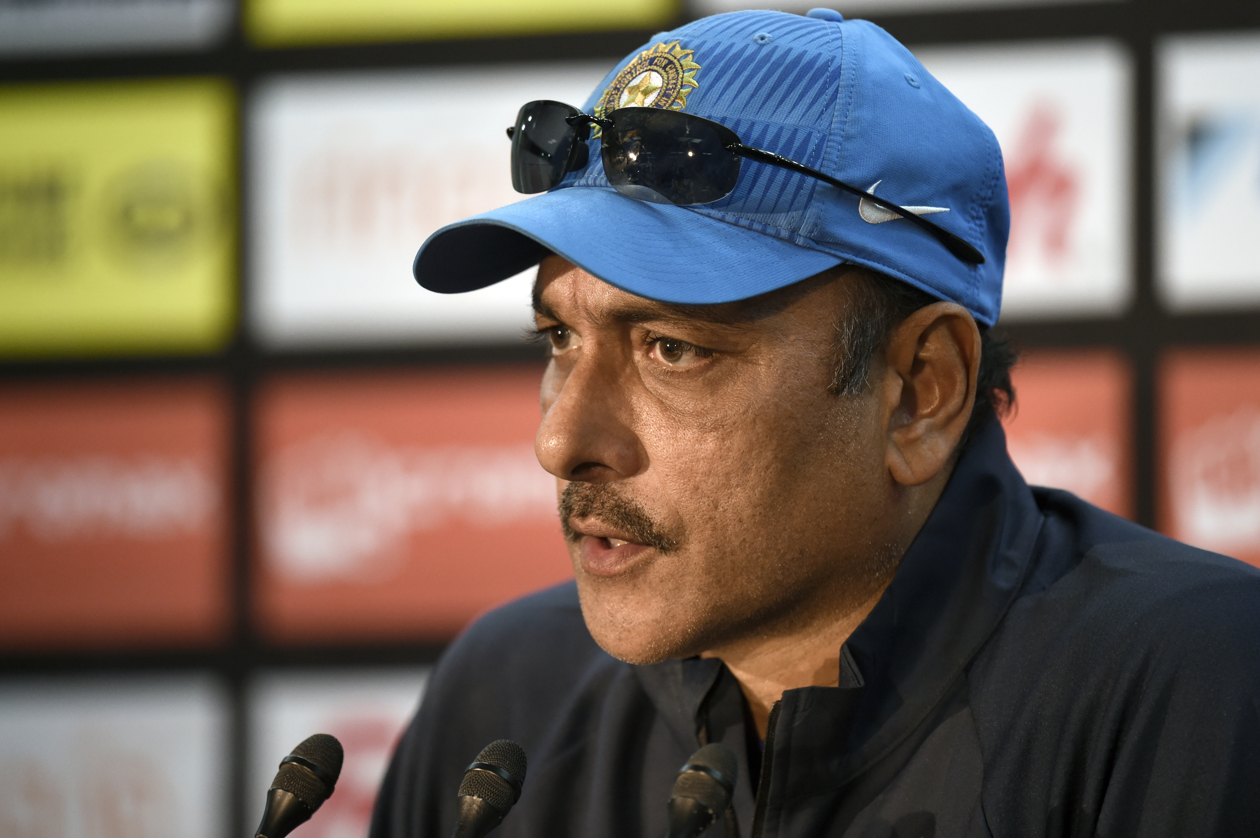 Ravi Shastri was replaced by current India coach Anil Kumble. Photo: AFP