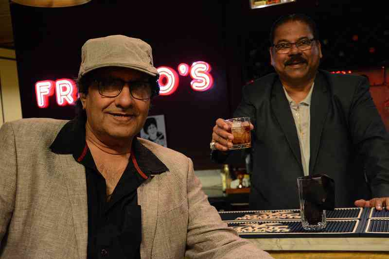 Anil Dhawan and Franco Vaz on the sets of Andhadhun (2018). Courtesy Matchbox Pictures.