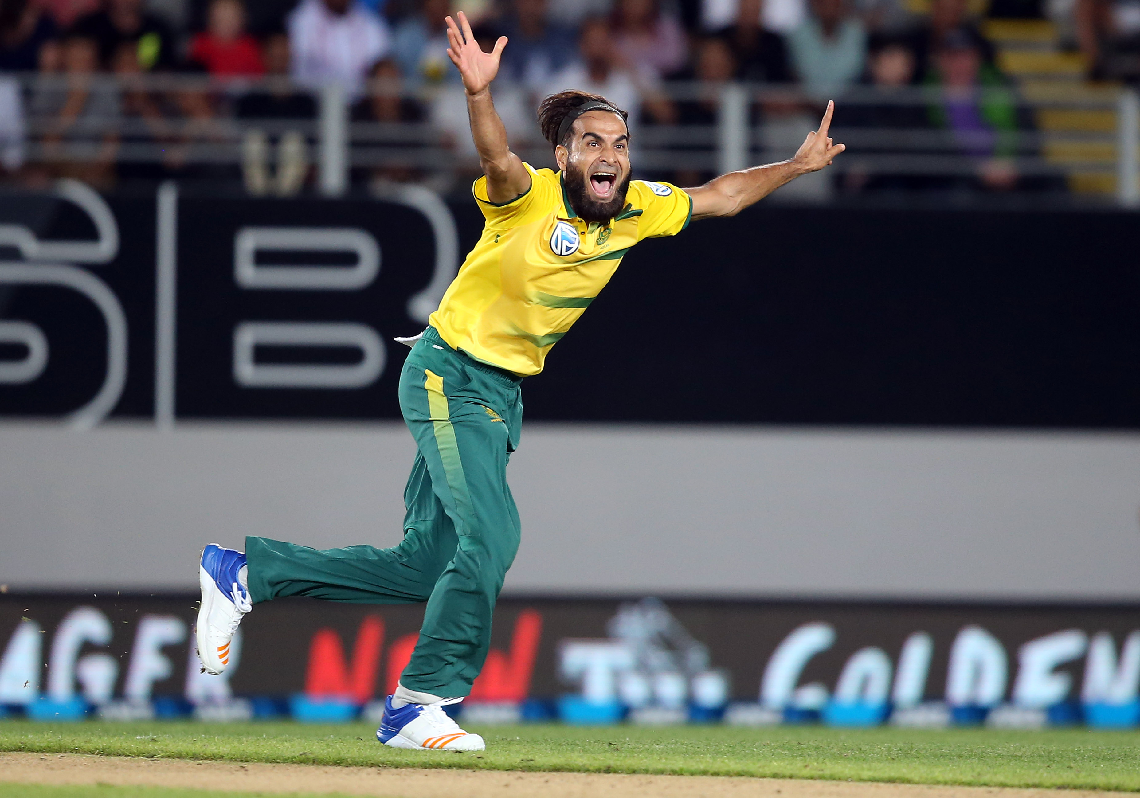 Imran Tahir is the World No 1 bowler in both limited-overs formats right now. AFP