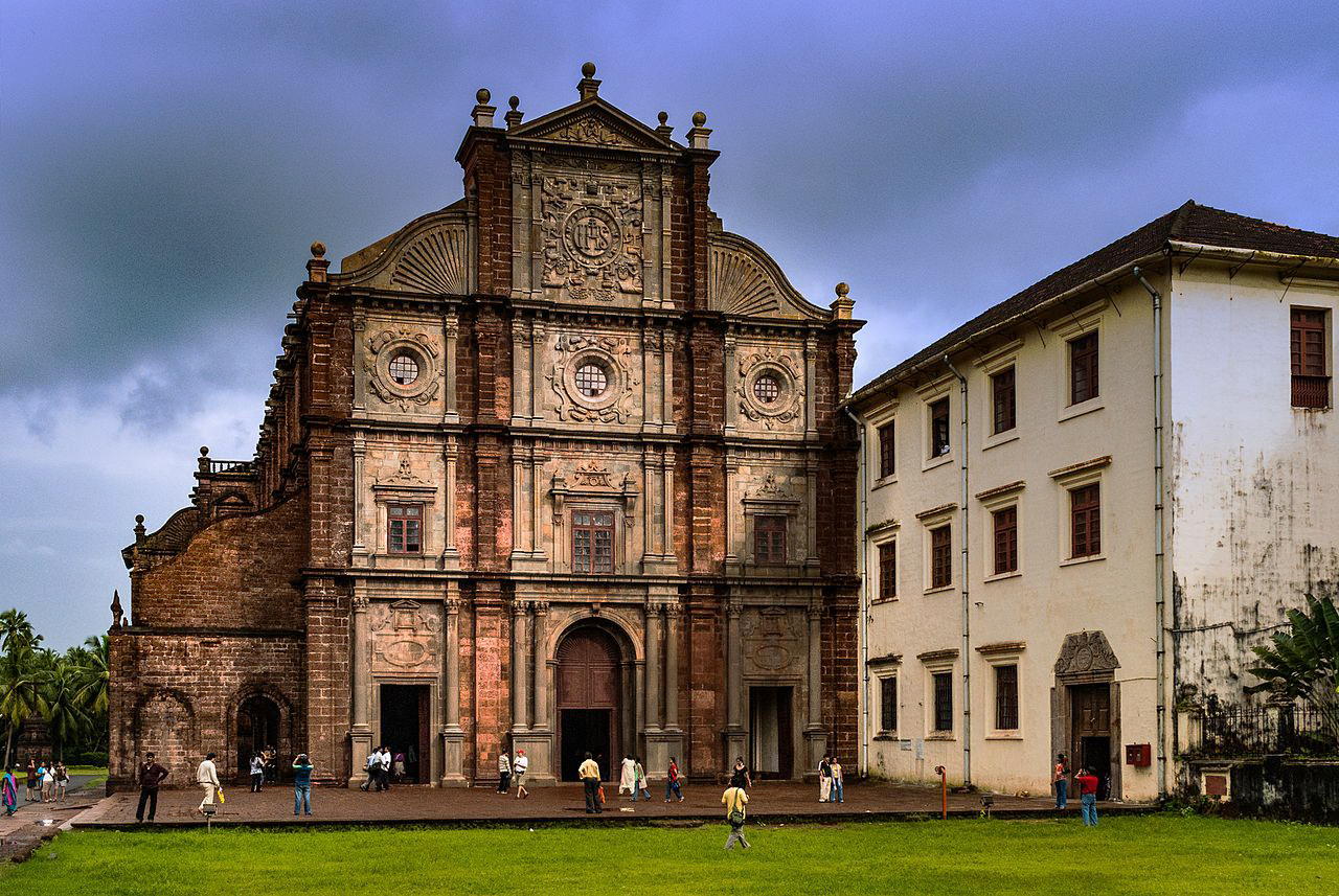 Basilica of Bom Jesus. Photo credit: Bikashrd/Wikimedia Commons [Licensed under CC-BY-SA-4.0]