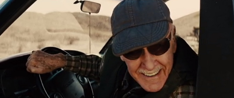 Stan Lee in Thor (2011). Courtesy Marvel Studios.