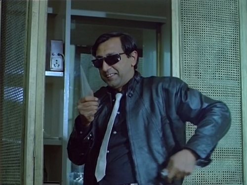 Tinnu Anand in Pushpak (1987). Courtesy Mandakini Chitra.