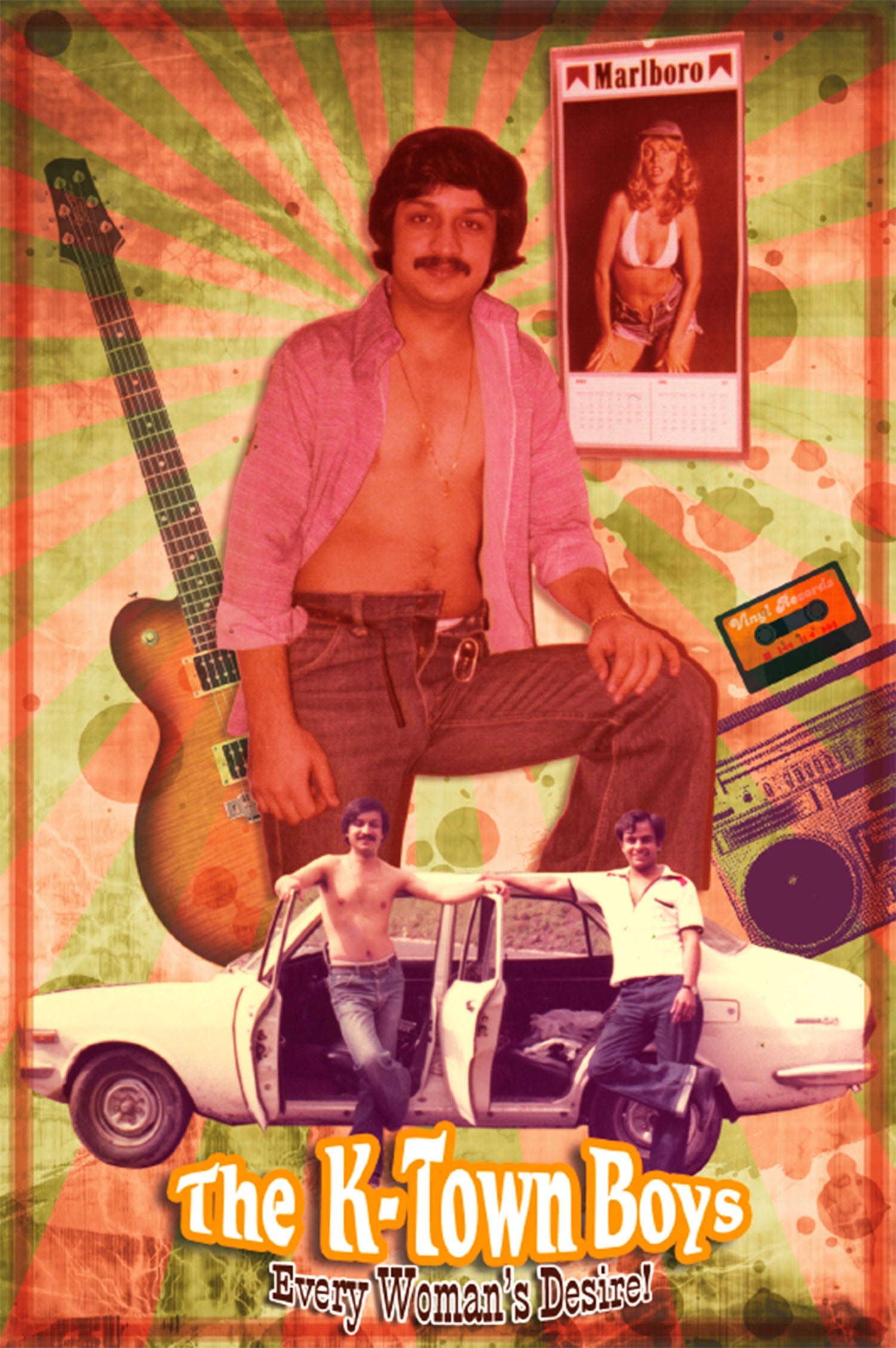 A 1975 poster of a Karachi-based pop band.