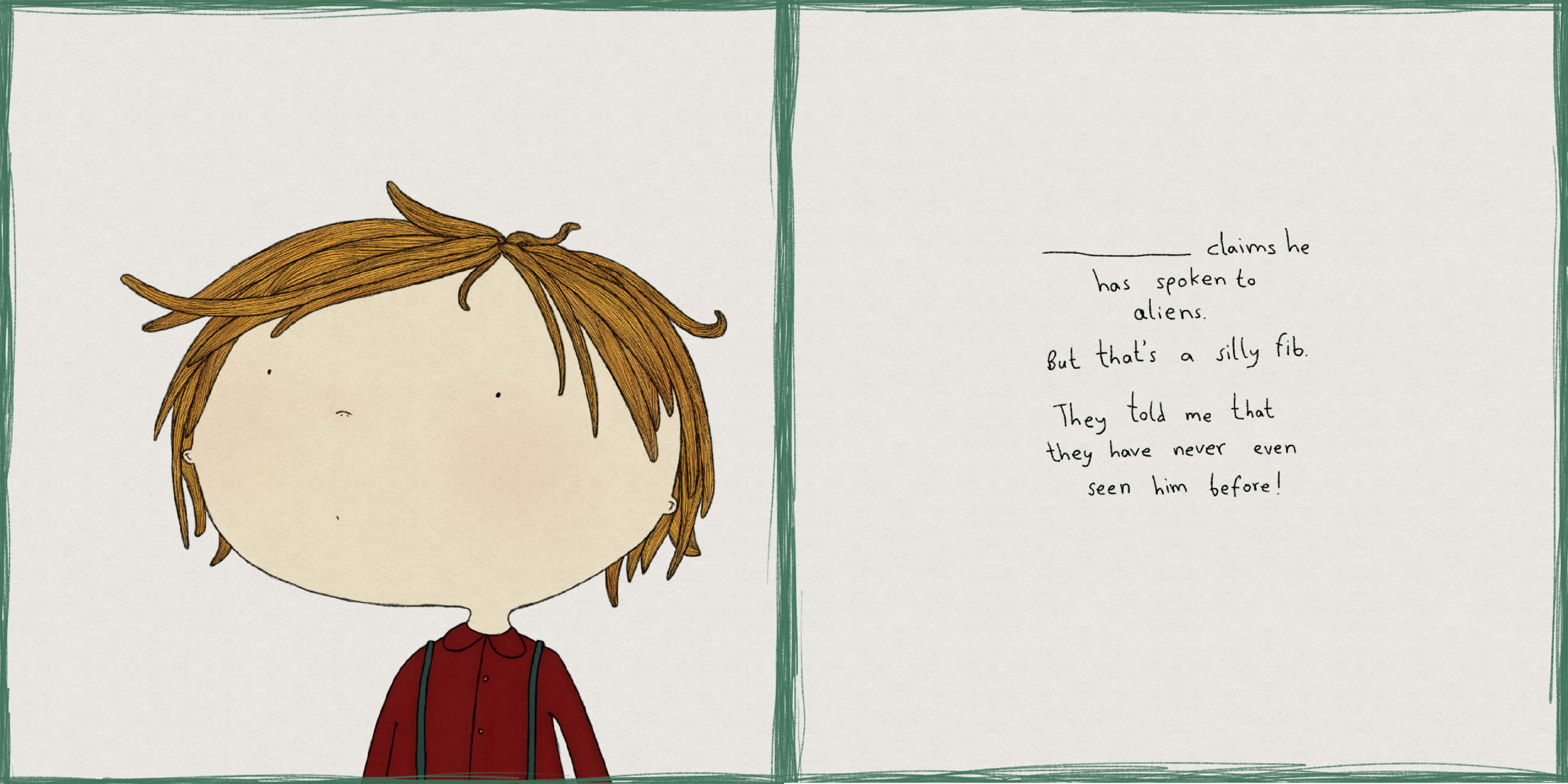 A page from 'I'm With Silly'.