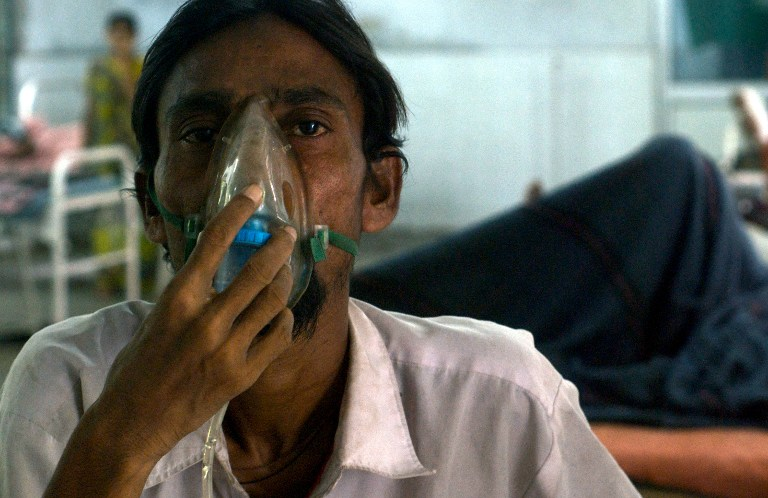 Tuberculosis kills 4,80,000 Indians every year or close to 1,400 daily, according to government data. (Credit: Marine Simon / AFP)