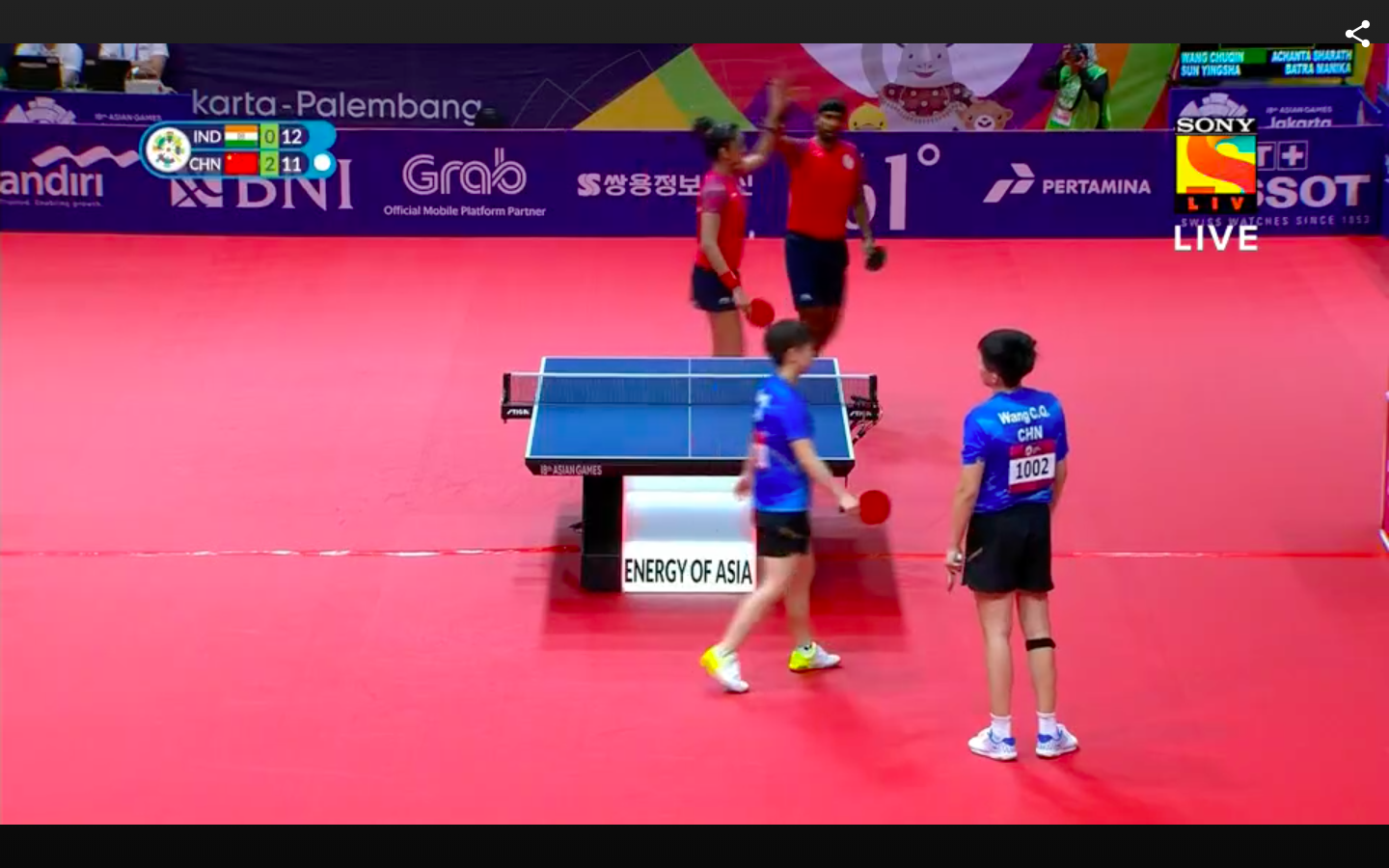 Asian Games Day 11 As It Happened Arpinder Bags Triple Jump Gold Solid State Relay Jakarta 426 Pm Table Tennis
