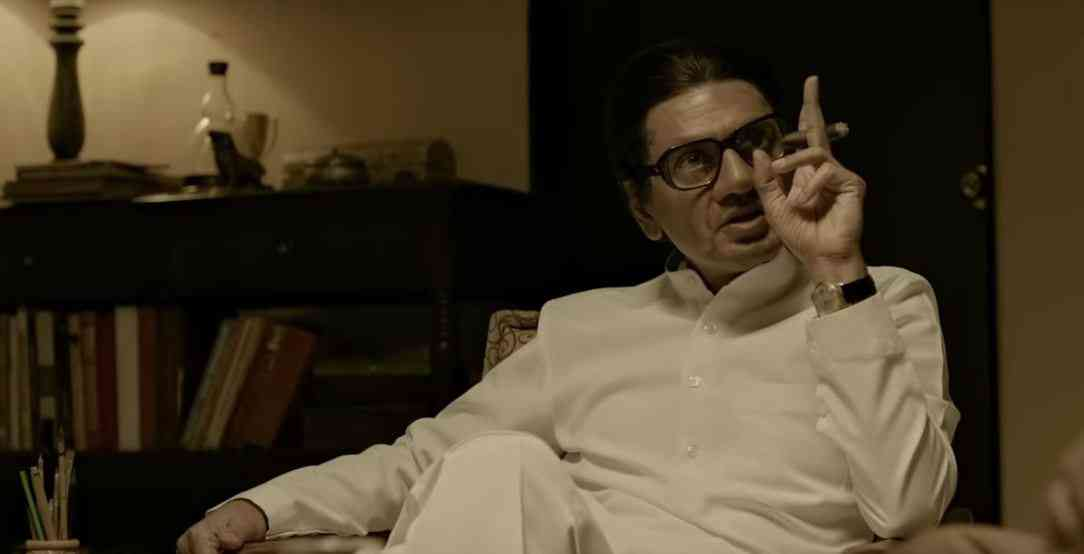 Thackeray. Courtesy Viacom 18 Motion Pictures/Carnival Motion Pictures/Raut'ers Entertainment.