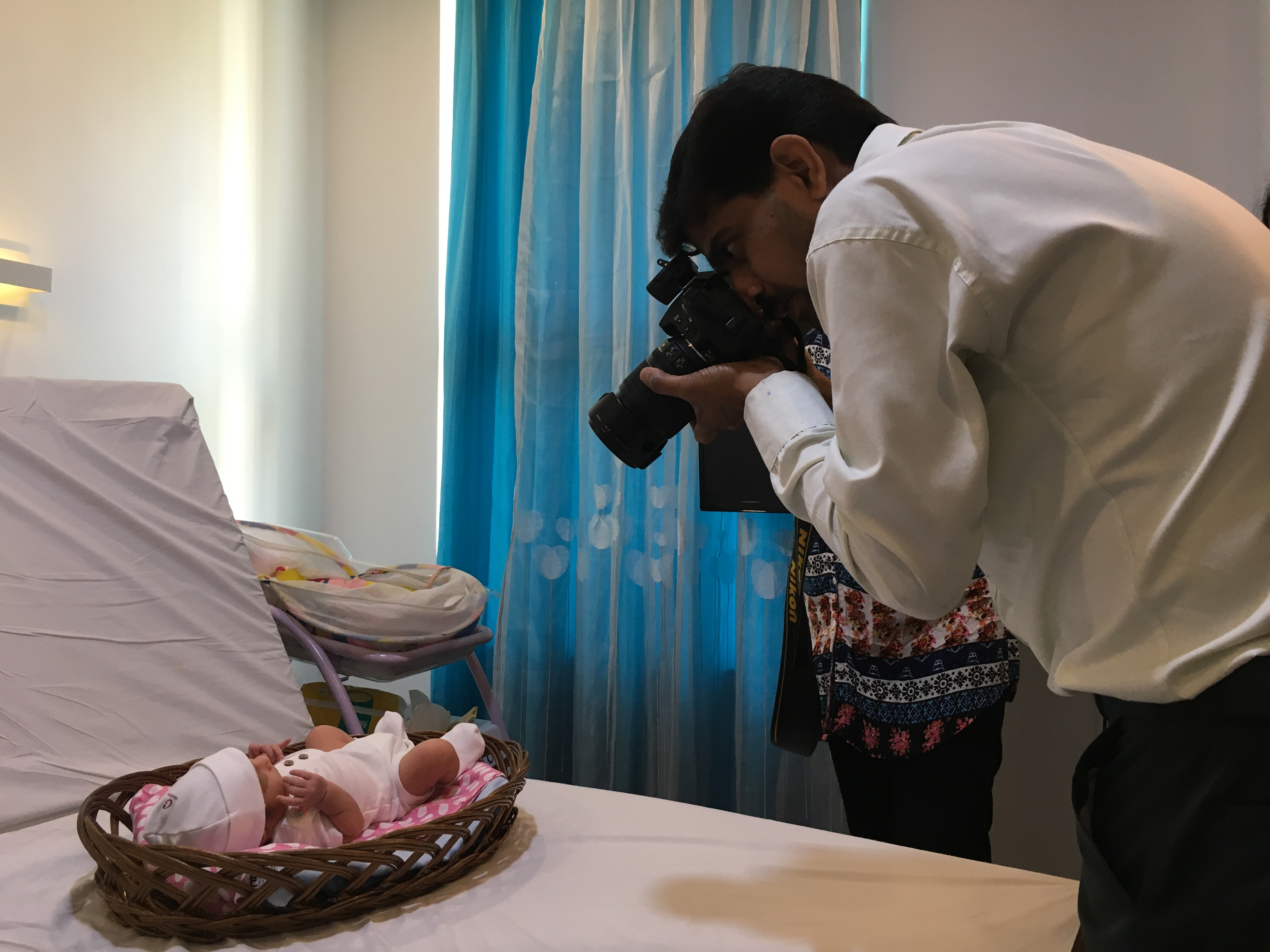 Baby Aasavari's first photo shoot. (Photo: Priyanka Vora)