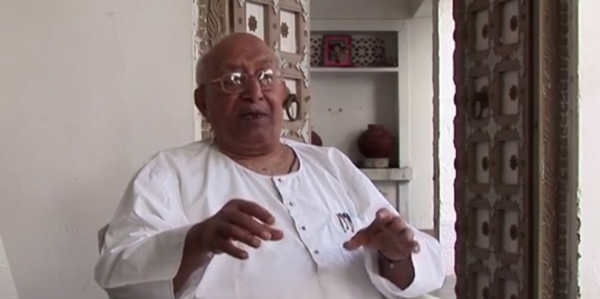 Vijaydan Detha in a still from the documentary 'Partners in Crime', directed by Paromita Vohra.
