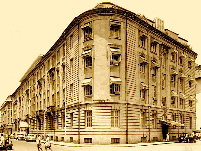 Bombay House, the head office of the Tata Group.