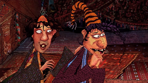 GGBB Goopi Gawaiya Bagha Bajaiya. Courtesy Children's Film Society India/Karadi Tales.