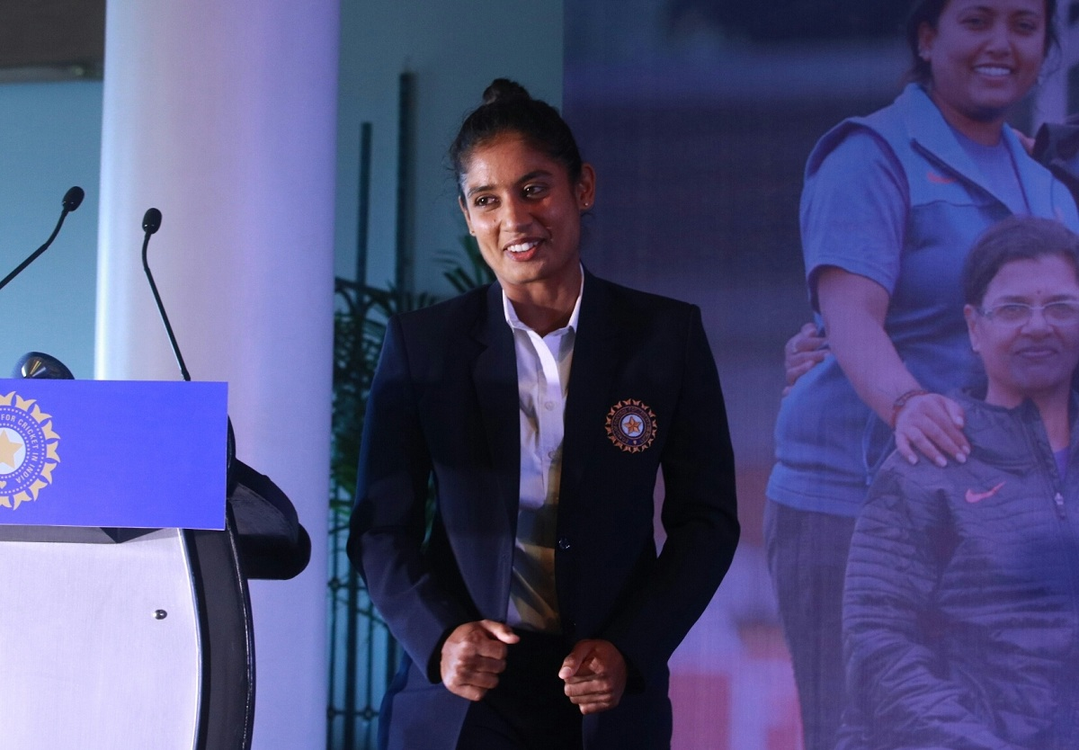 Indian skipper Mithali Raj.