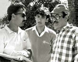 Mansoor Khan, Aamir Khan and Nasir Husain. Courtesy HarperCollins Publishers and Nasir Husain Films/Mansoor Khan.