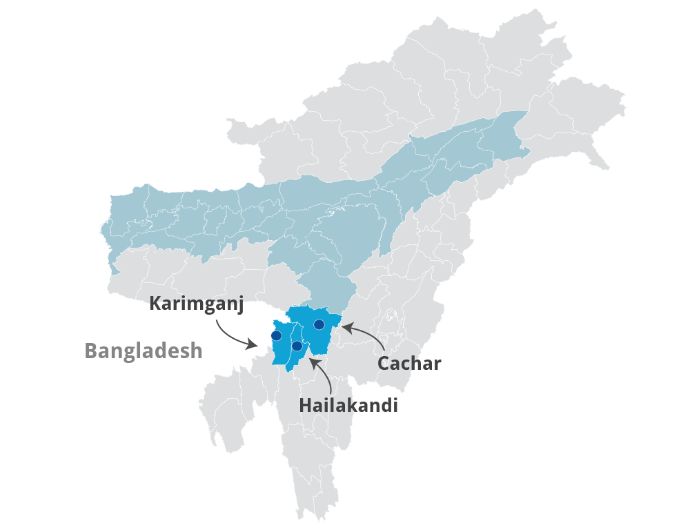 In Assam's Barak Valley, where Partition took place not just on the basis of religion but also language, people are divided about the Citizenship Bill.
