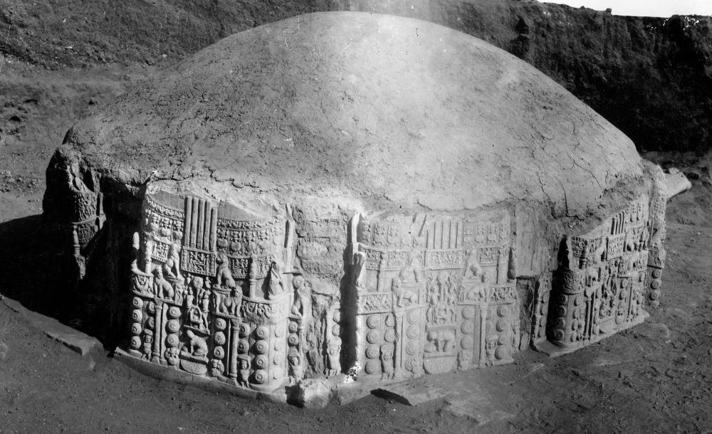 Votive Stupa, Amrvati/ASI