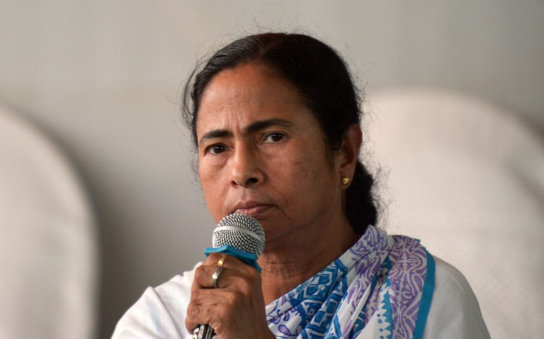 Mamata Banerjee also holds the health portfolio, which has added to criticism of her handling of the dengue situation in West Bengal. (Credit: Dibyangshu Sarkar / AFP)