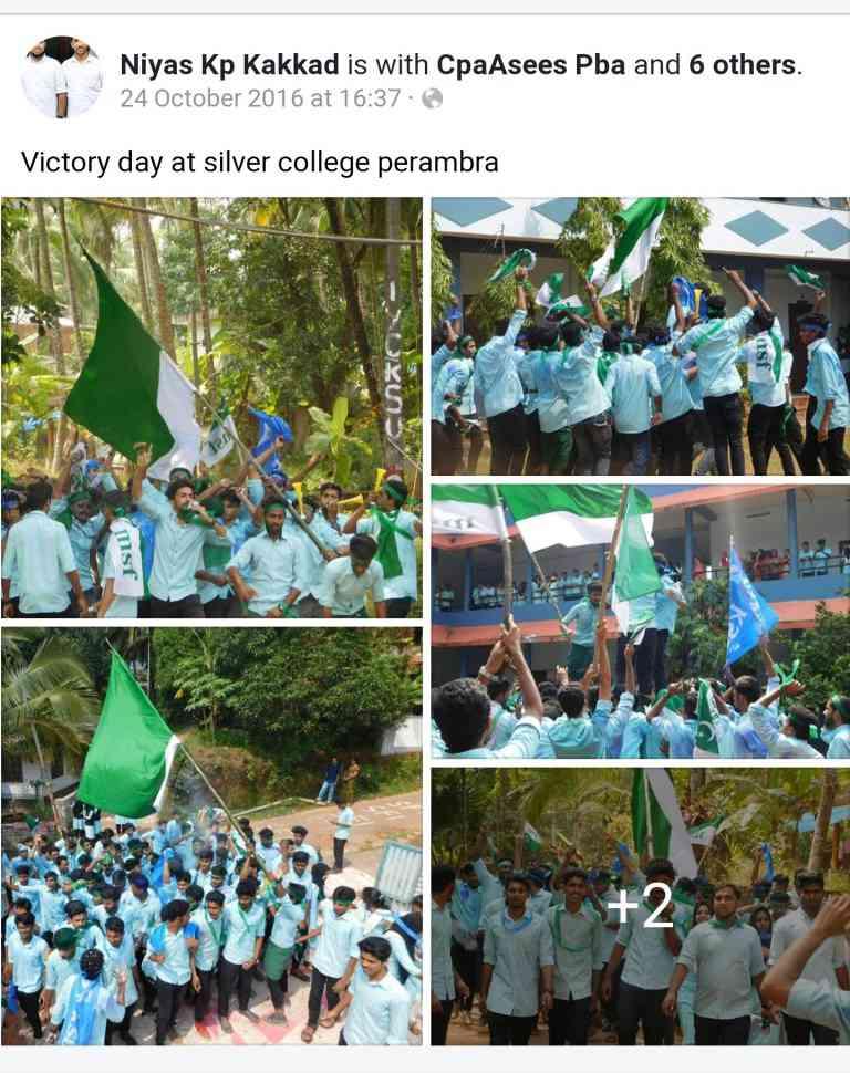 Fact check: Did Kerala students wave Pakistan flag, as Times