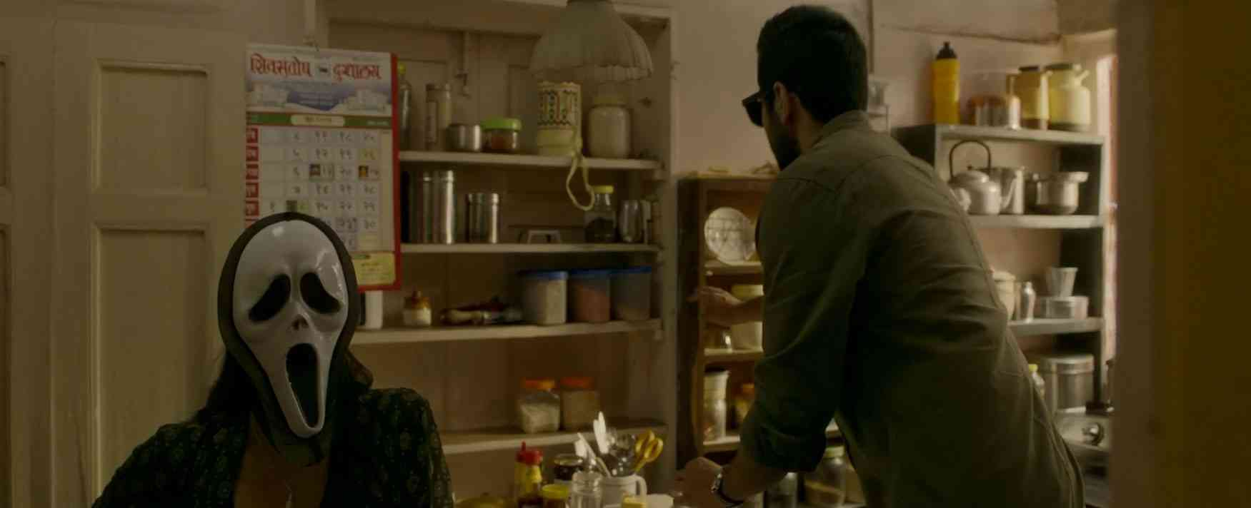 Tabu and Ayushmann Khurrana in Andhadhun. Courtesy Matchbox Pictures.