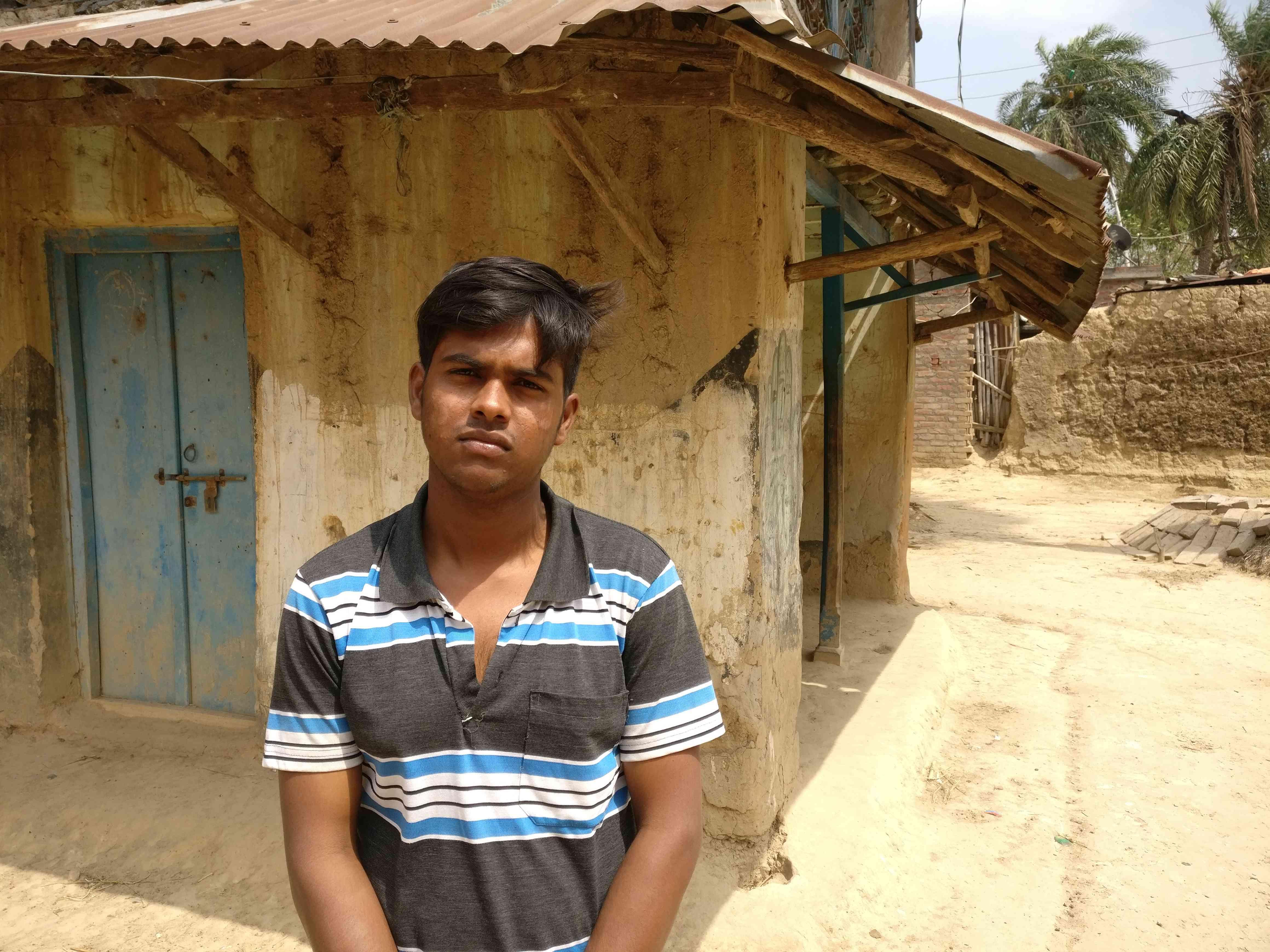 Golam Mustafa is unhappy with the Congress for not doing development work in his in Bahalnagar village, Murshidabad. Photo credit: Shoaib Daniyal