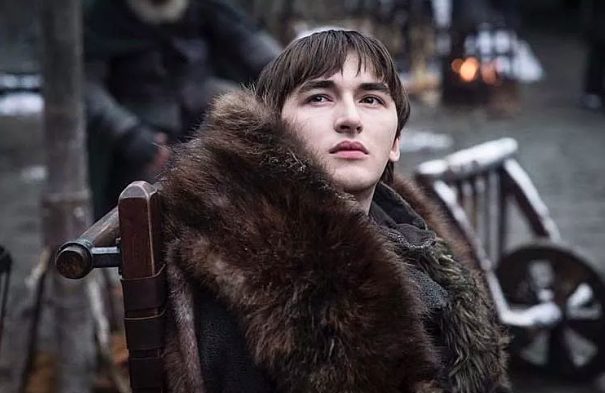 Issac Hempstead Wright as Bran Stark. Courtesy HBO.