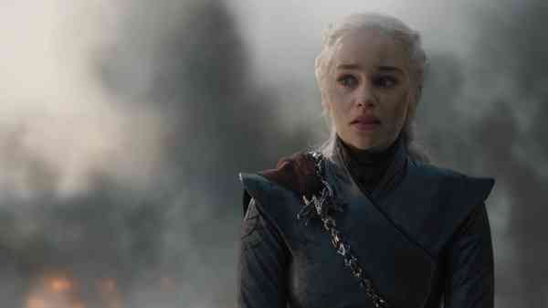Daenerys (Emilia Clarke) in Game of Thrones. Courtesy of HBO.