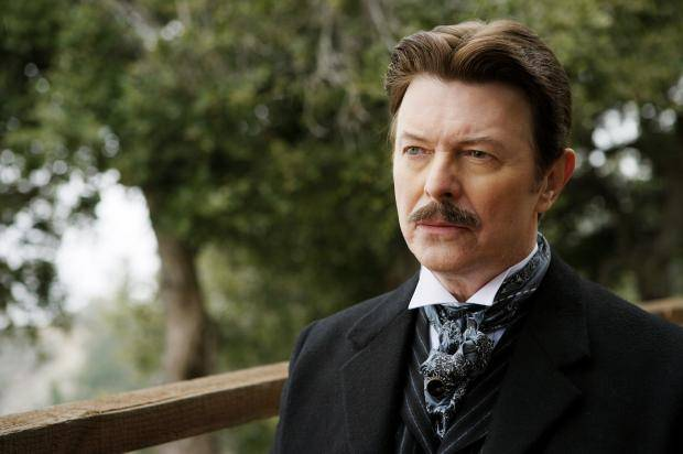 David Bowie as Nikola Tesla in The Prestige (2006).