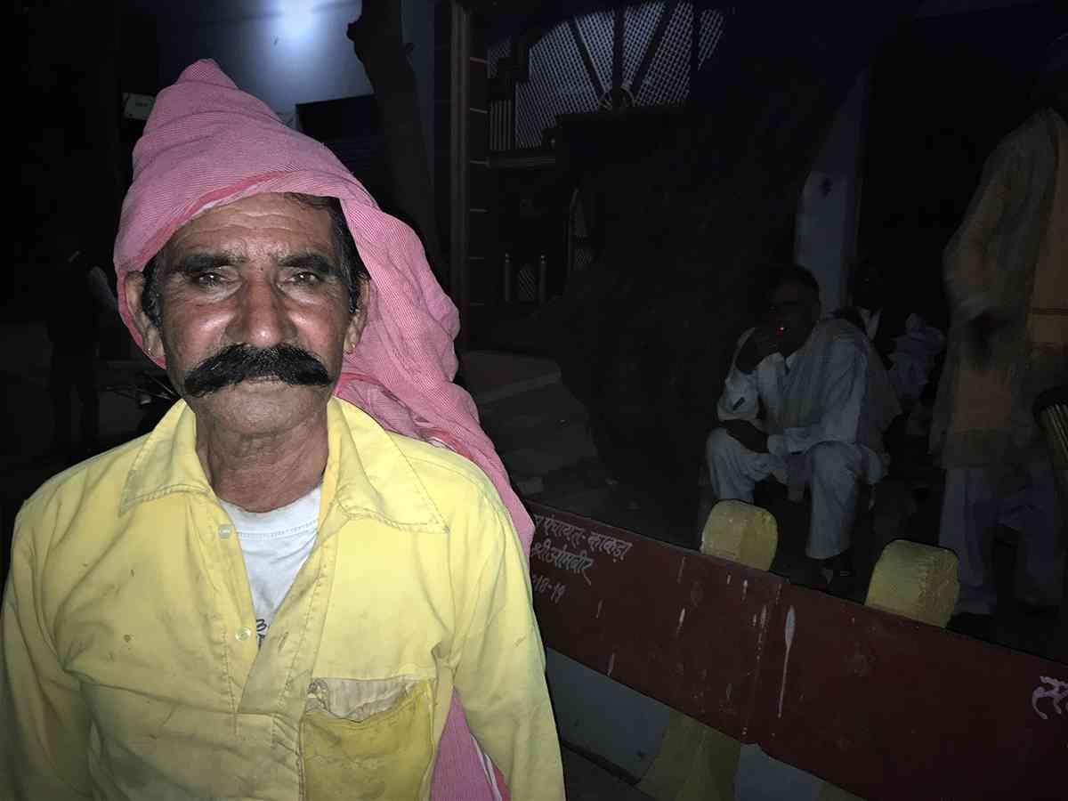 Sukhbir Singh, a Jat villager at Kakada village, in western Uttar Pradesh's Muzaffarnagar Lok Sabha constituency. (Photo credit: Akash Bisht).