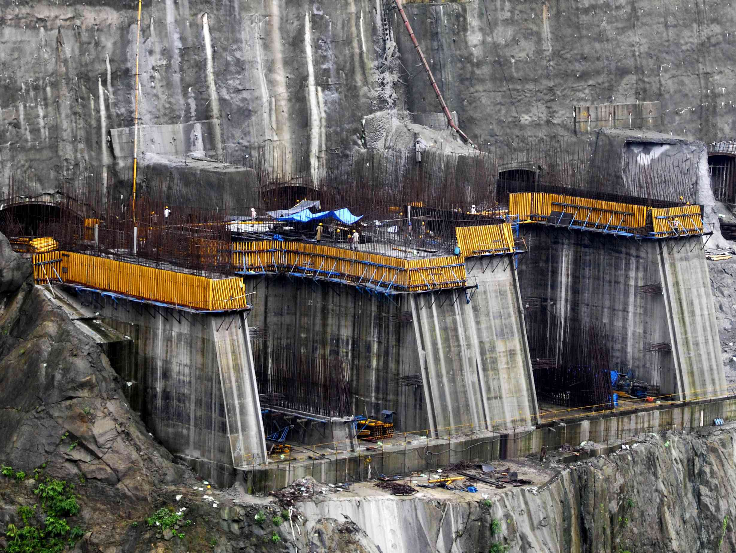 The environmental impact assessment for the Subansiri dam project on the Arunachal Pradesh-Assam border reportedly did not follow due process. (Credit: AFP)