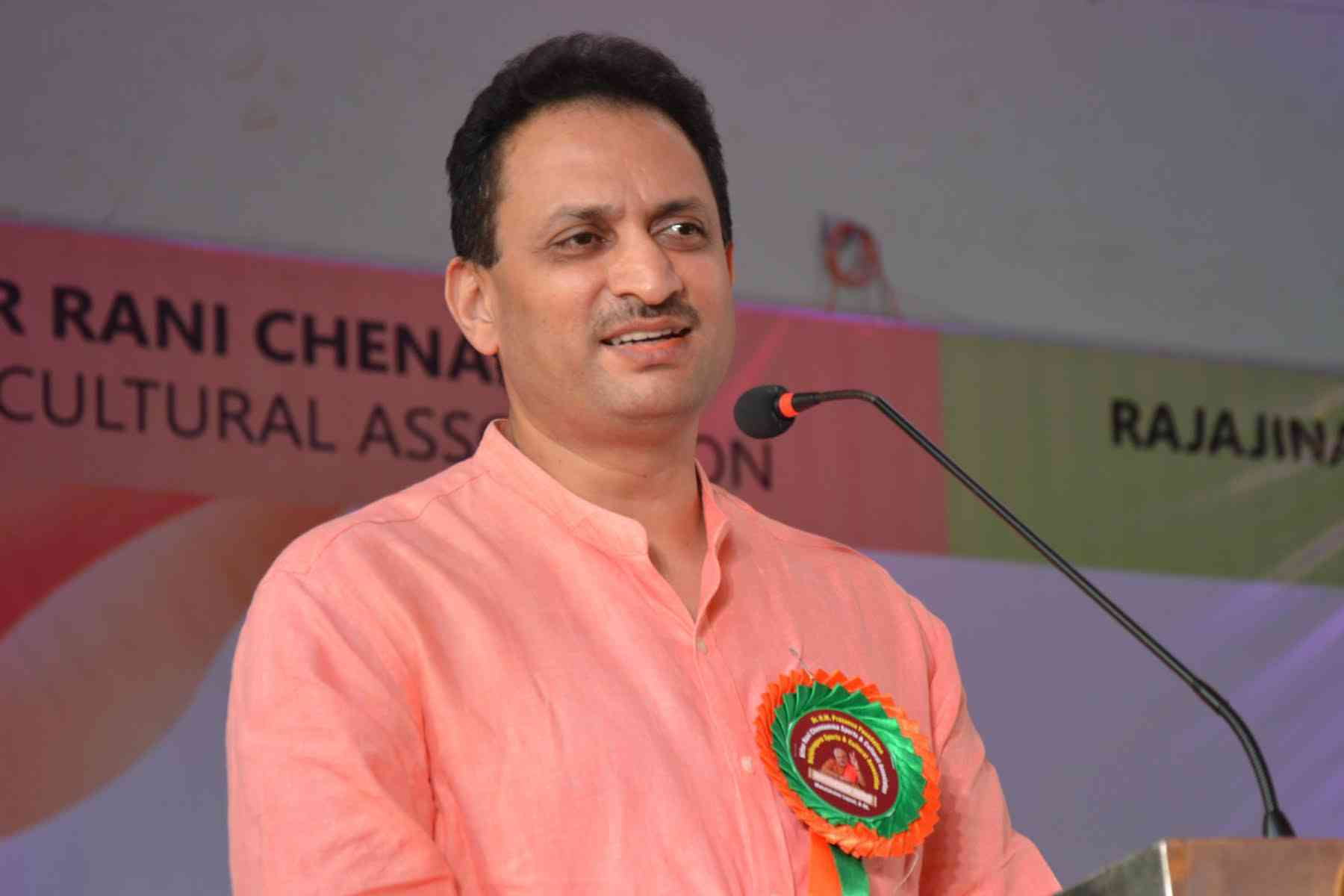 Anantkumar Hegde is a minister under Narendra Modi. Photo via Facebook