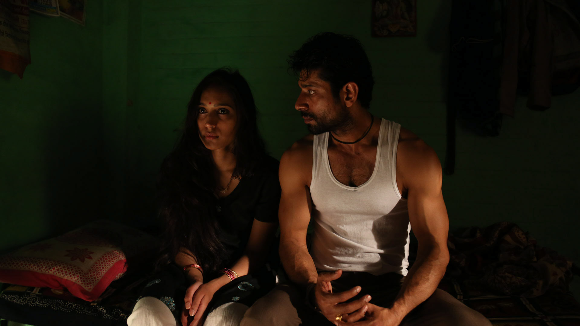 Vineet Kumar Singh and Zoya Hussain in Mukkabbaz. Courtesy Colour Yellow Productions.