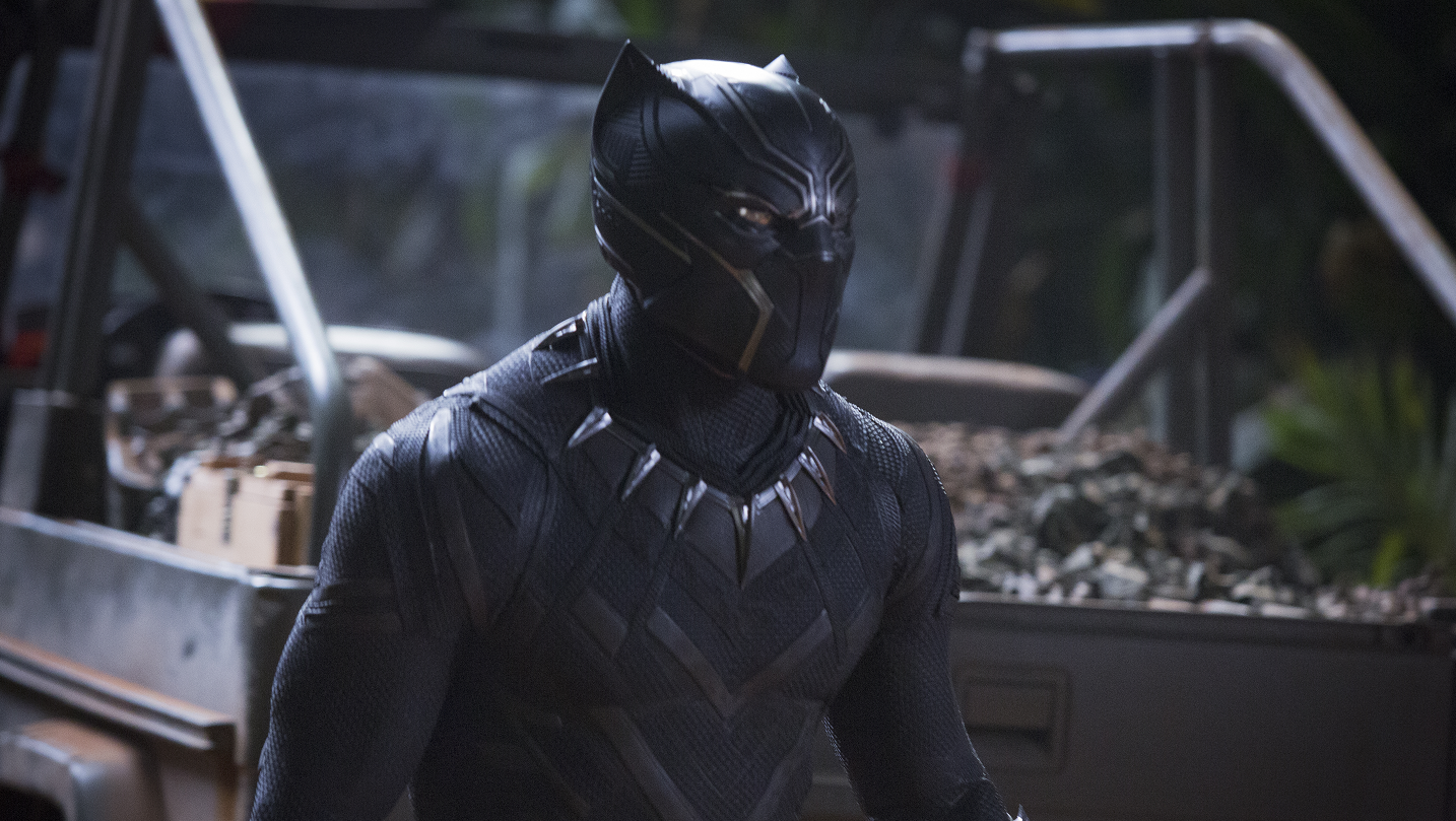 Black Panther. Courtesy Marvel Studios.