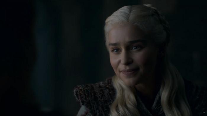 Daenerys Targaryen (Emilia Clarke) in Game of Thrones. Courtesy HBO.