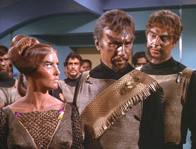 The original Klingons of the 1960s. Courtesy Paramount Pictures.