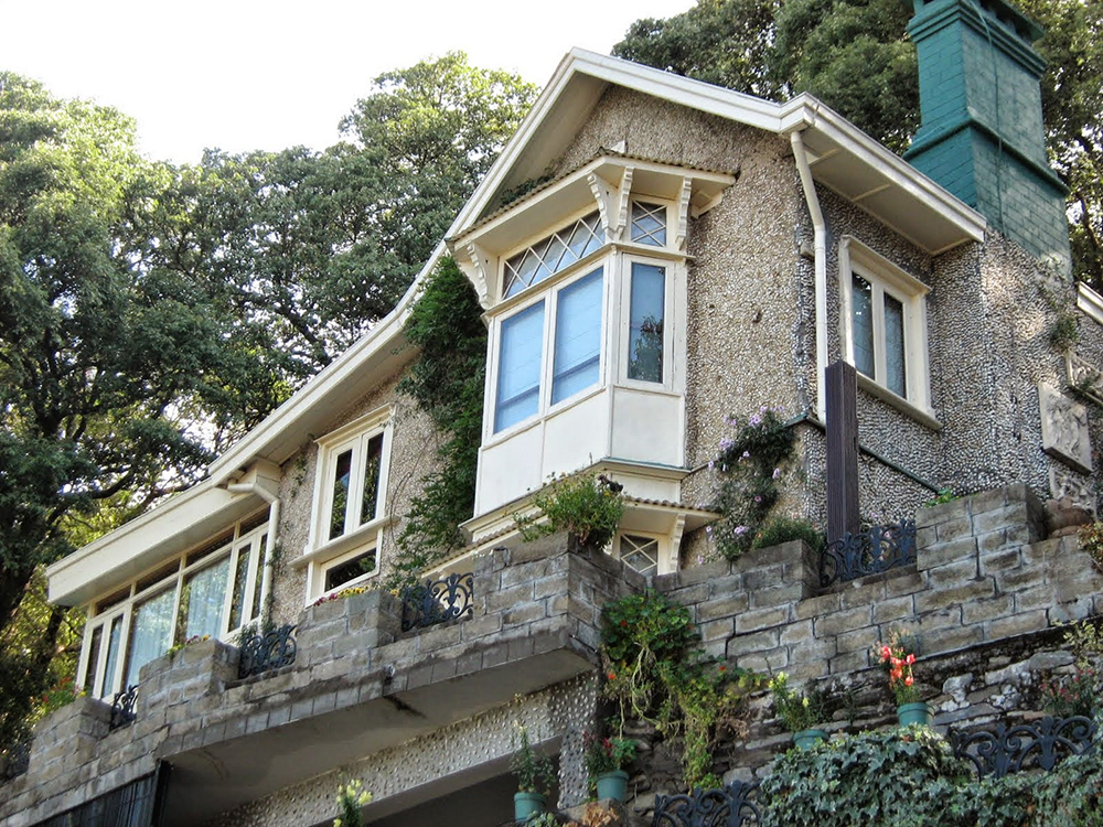 Sher-Gil's home in Shimla, The Holme.